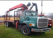 USED DRYWALL CRANE TRUCKS FOR SALE